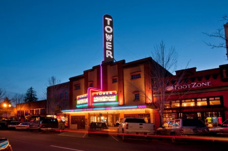 The Tower Theatre,Downtown,Bend,Oregon,USA
